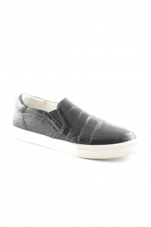 ASH Slip-on Shoes black-natural white casual look