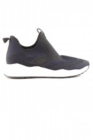 ASH Sneaker slip-on nero-blu stile atletico