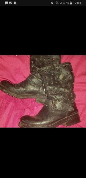ASH Biker Boots black