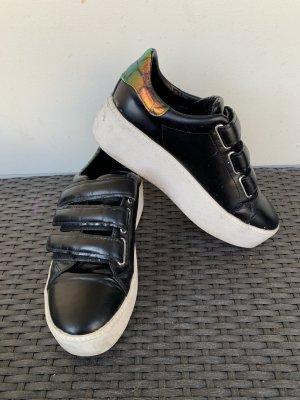ASH Sneaker gr 39 schwarz Plateau