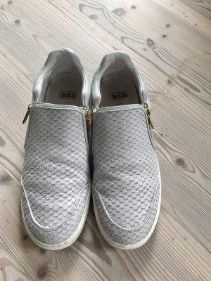 ASH Instapsneakers lichtgrijs-goud