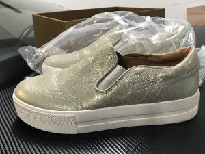 ASH Slip-on Sneakers white-gold-colored