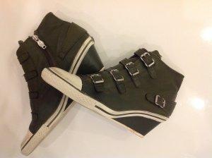 ASH Sneaker Limited Weiß/Grün/Silber Größe 41