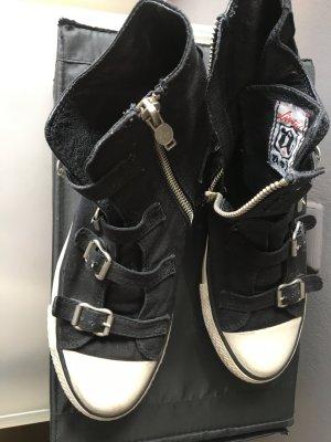 ASH Basket noir-blanc