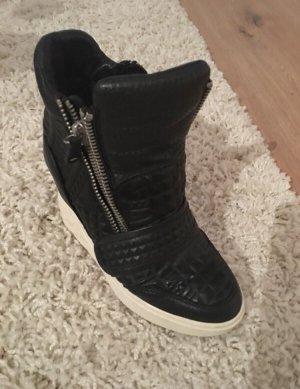 ASH Heel Sneakers black-white