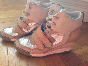 ASH Sneaker Wedges Silber Beige Marant 39