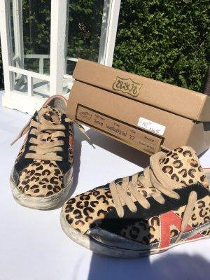 ASH Sneaker stringata nero-marrone