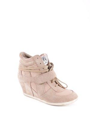 ASH Wedge Sneaker light brown casual look