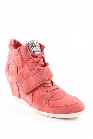ASH Wedge Sneaker hellrot sportlicher Stil