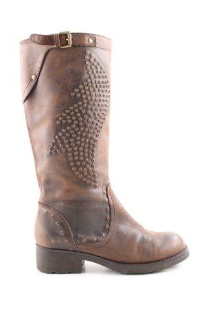 ASH Botas estilo vaquero marrón look casual
