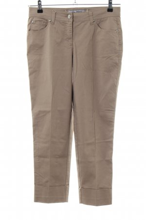 Ashley Brooke 3/4 Length Trousers brown business style
