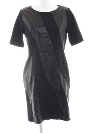 Ashley Brooke A-Linien Kleid schwarz Business-Look