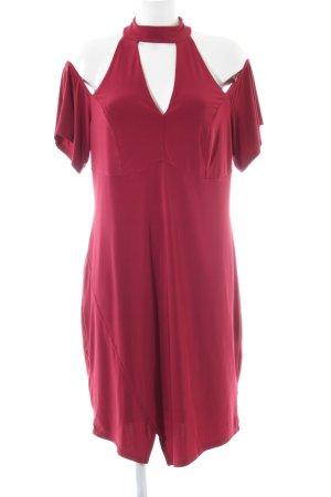 Ashley Brooke A-lijn jurk rood elegant