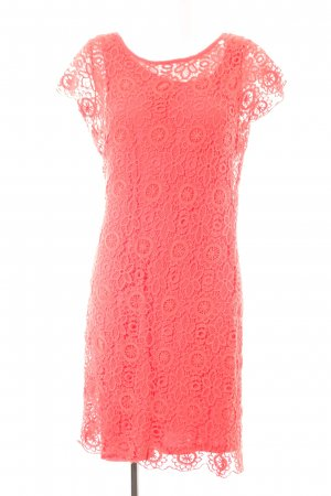 Ashley Brooke A-Linien Kleid rot Blumenmuster Casual-Look