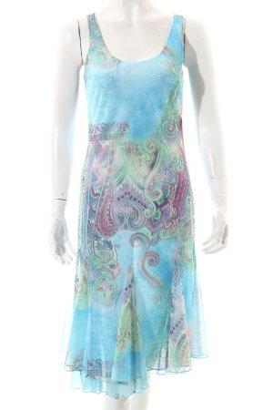 Ashley Brooke A-Linien Kleid Ornamentenmuster Romantik-Look