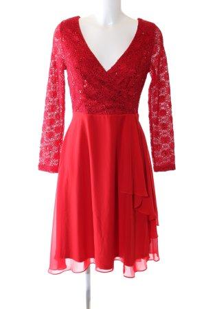 Ashley Brooke Avondjurk rood elegant