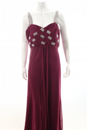 Ashley Brooke Abendkleid purpur-silberfarben Eleganz-Look