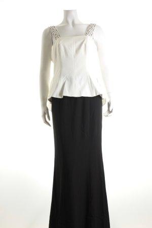Ashley Brooke Abendkleid schwarz-weiß Elegant