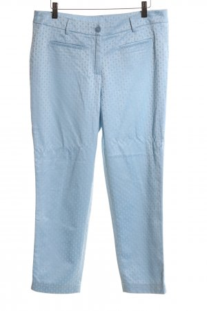 Ashley Brooke Suit Trouser blue allover print casual look