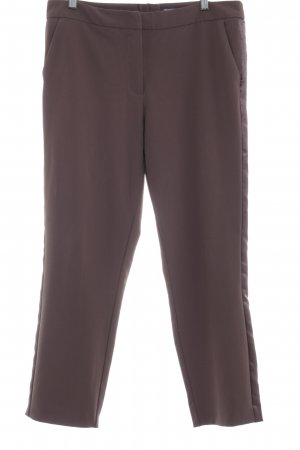 Ashley Brooke Pantalone da abito marrone-grigio stile casual