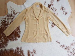 Ashley Brooke Camicetta a blusa crema