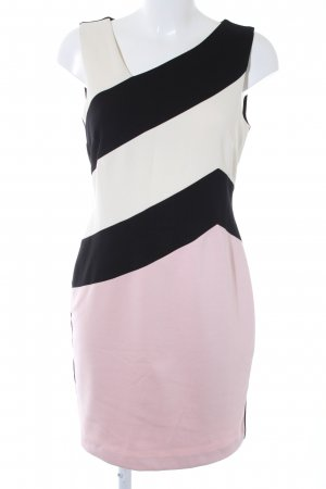 Ashley Brooke Pencil Dress color blocking elegant