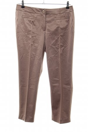 Ashley Brooke Pleated Trousers bronze-colored casual look