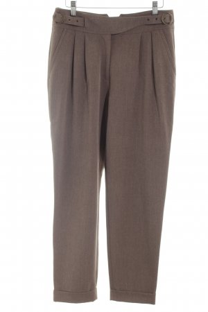 Ashley Brooke Pleated Trousers bronze-colored business style