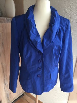 ASHLEY BROOKE by Heine Schalkragen-Blazer mit Glanz Gr. 44 Blau - NEU