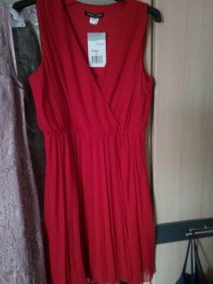 Ashley Brooke Vestido de cóctel rojo