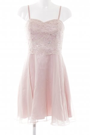 Ashley Brooke Cocktailkleid rosé florales Muster Elegant