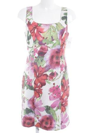 Ashley Brooke Vestido ceñido de tubo estampado floral elegante