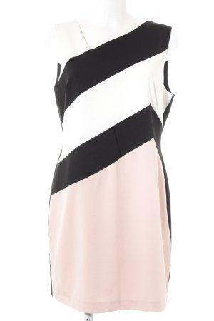 Ashley Brooke Vestido ceñido de tubo estampado a rayas elegante