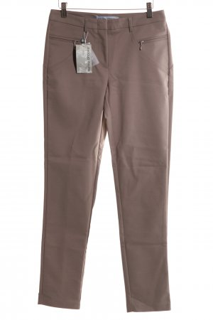Ashley Brooke High Waist Trousers brown casual look
