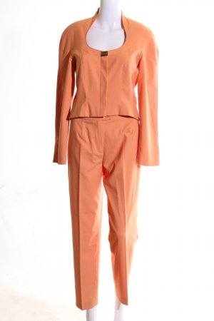 Ashley Brooke Trouser Suit light orange casual look