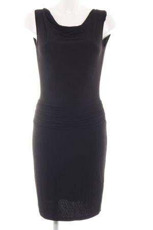Ashley Brooke Jerseykleid schwarz Elegant