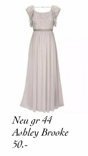 Ashley Brooke Evening Dress white-black