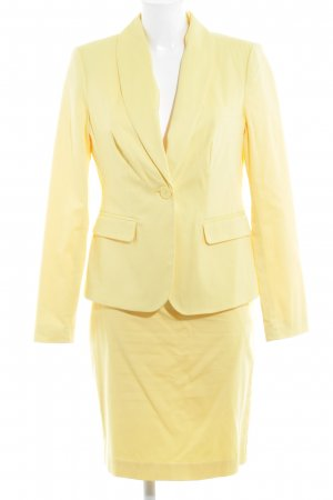 Ashley Brooke Tailleur jaune foncé style d'affaires