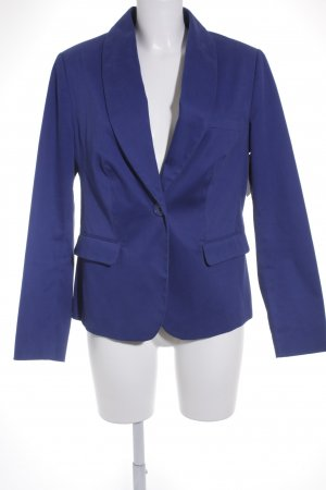 Ashley Brooke Kurz-Blazer blau klassischer Stil