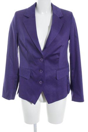 Ashley Brooke Blazer corto violeta azulado estilo «business»