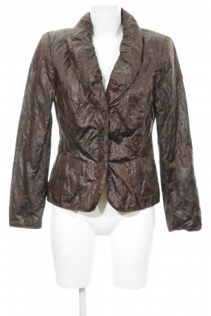 Ashley Brooke Korte blazer donkerbruin elegant