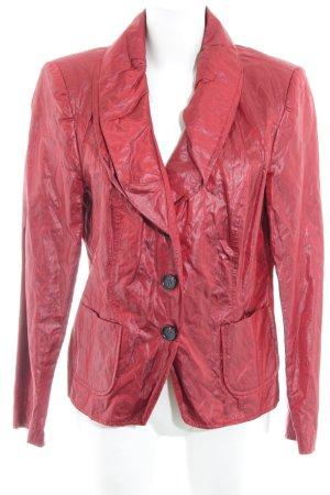 Ashley Brooke Kurz-Blazer rot-dunkelrot Casual-Look