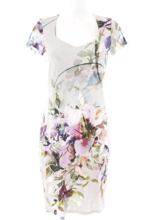 Ashley Brooke Jurk met korte mouwen bloemenprint casual uitstraling