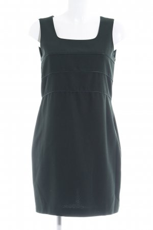 Ashley Brooke Shortsleeve Dress dark green-petrol classic style