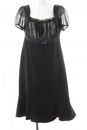 Ashley Brooke Jurk met korte mouwen zwart elegant