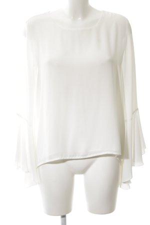 Ashley Brooke Blouse met lange mouwen wit zakelijke stijl