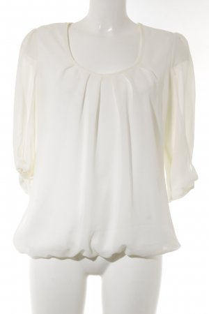 Ashley Brooke Blouse met lange mouwen wolwit elegant