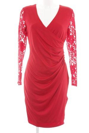 Ashley Brooke Longsleeve Dress red elegant