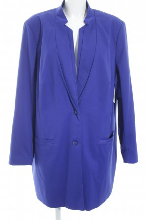 Ashley Brooke Long Blazer blue simple style