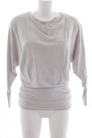 Ashley Brooke Long Sweater light grey-grey brown casual look